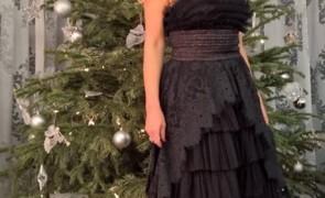 elena udrea rochie neagra