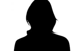 silueta cap femeie