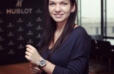 Simona Halep ceas