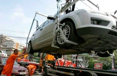 masini parcate ilegal