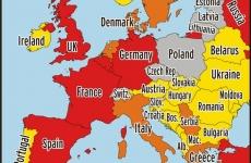 harta terorii isis