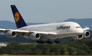 Lufthansa avion