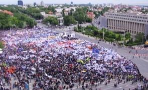 miting proteste guvern piata victoriei