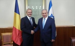 Benjamin Netanyahu Liviu Dragnea