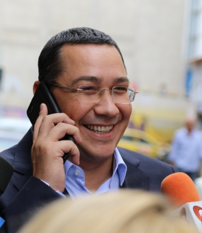 Inquam Victor Ponta telefon zambet