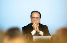 Inquam Klaus Iohannis Francois Hollande Măgurele