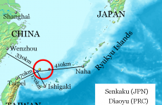 Senkaku Diaoyu Tiaoyu Islands