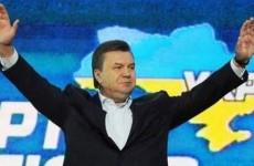 UKRAINE-VOTE-YANUKOVICH
