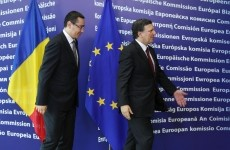Jose Manuel Barroso,  Victor-Viorel Ponta