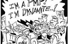 PMP cartoon