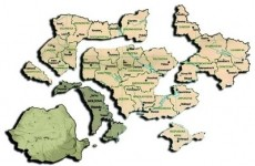 Romania Mare Basarabia Bucovina Ucraina sparta Moldova mica