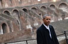 obama colosseum
