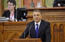 Hungarian Parliament Orban Parlament