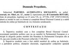 PSD contestatie