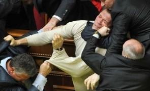 Ucraina-bataie-parlament