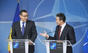 Visit to NATO by the Prime Minister of Romania