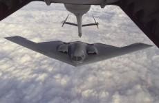 B-2 Spirit prepares for refueling