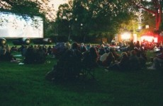 cinema in parc