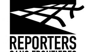 Reporters sans frontières logo