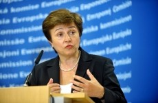 Press conference by Kristalina Georgieva