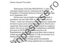 demisie TDL Moldovan