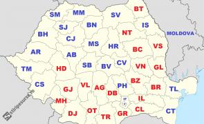 harta alegeri turul 2