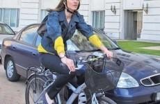 alina gorghiu bicicleta