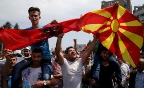 macedonia proteste