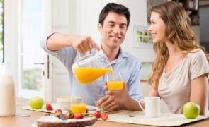 mic dejun fructe