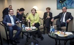 tsipras merkel hollande