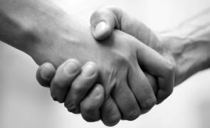 handshake, mana