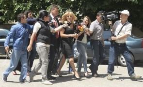 elena udrea jurnalisti