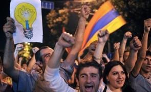 manifestatie armenia