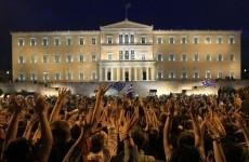 protest grecia atena