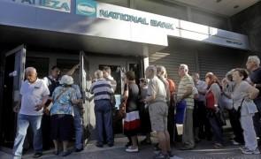 grecia banci coada