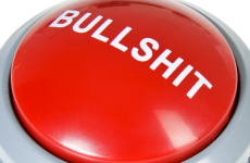bullshit buton