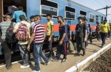 imigranti tren