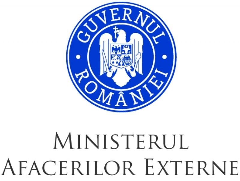 mae ministerul afacerilor externe logo antent