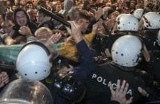 violente Muntenegru