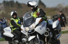 politie motociclist