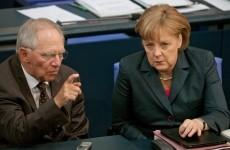 Merkel Wolfgang Schäuble