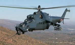 Mi24 elicopter