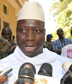 presedinte Gambia