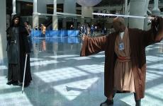 Star_Wars_Celebration_IV_-_Jedi_lightsaber_duel_(4878881510)