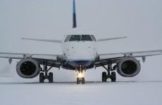 avion zapada