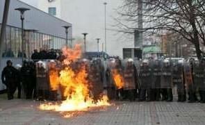 protest kosovo