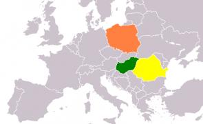romania polonia ungaria