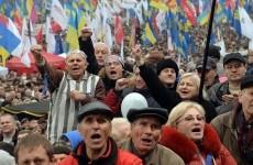 protest ucraina