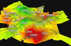 harta fricii in Bucuresti