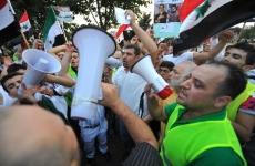 protest sirieni